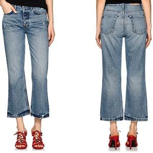 GRLFRND The Linda Cropped High Rise Jeans